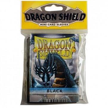 Dragon Shield Mini Sleeves - Black (50)