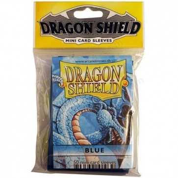 Dragon Shield Mini Sleeves - Blue (50)