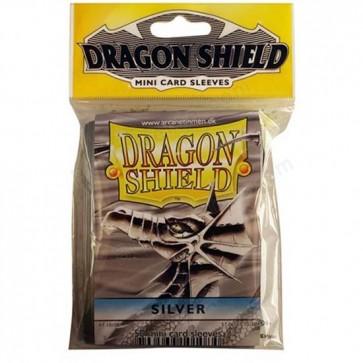 Dragon Shield Mini Sleeves - Silver (50)