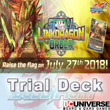 S-TD02: Spiral Linkdragon Order Future Card Buddyfight Start Deck