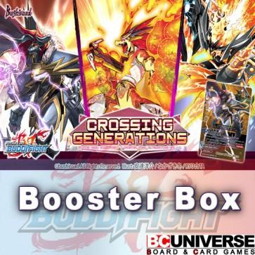 X-BT01A:Crossing Generations Future Card Buddyfight X Alternative Booster Box