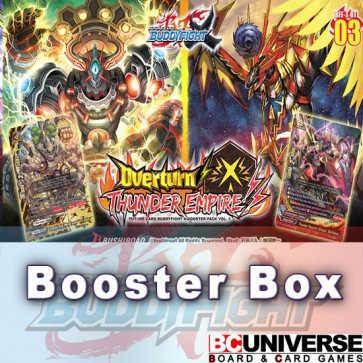 X-BT03: Overturn! Thunder Empire!! Future Card Buddyfight X Booster Box