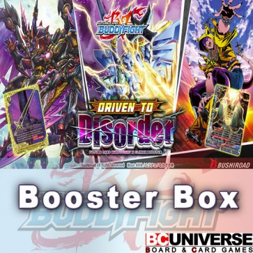 X-CBT1: Driven To Disorder Future Card Buddyfight X Climax Booster Box