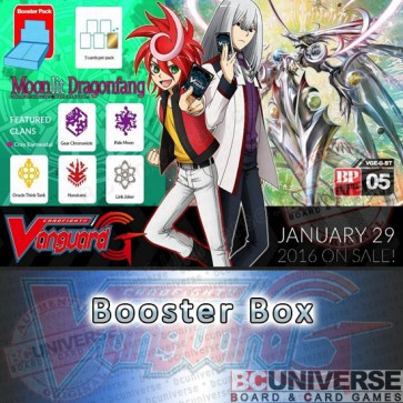 G-BT05 Moonlit Dragonfang Cardfight Vanguard G Booster Box