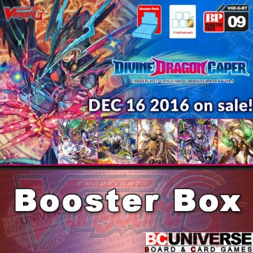 G-BT09 Divine Dragon CaperCardfight Vanguard G Booster Box