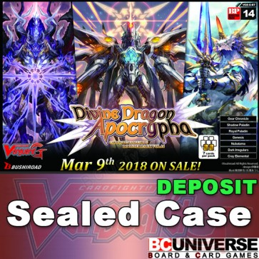 G-BT14 Divine Dragon Apocrypha Cardfight Vanguard G Sealed Case DEPOSIT