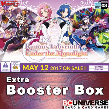 G-CHB03: Rummy Labyrinth Under the Moonlight Cardfight!! Vanguard G Character Booster Box