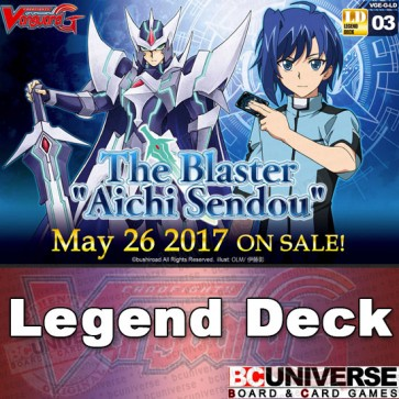 "G- LEG3: The Blaster ""Aichi Sendou"" - Cardfight Vanguard G Legend Deck Vol. 3"