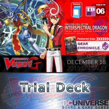 G-TD06: Rallying Call of the INterspectral Dragon - Cardfight Vanguard G Trial Deck