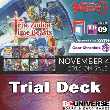 G-TD09: True Zodiac Time Beasts - Cardfight Vanguard G Trial Deck