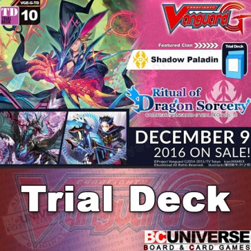 G-TD10: Ritual of Dragon Sorcery - Cardfight Vanguard G Trial Deck