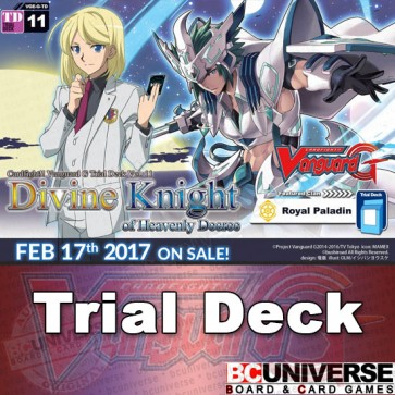 G-TD11: Divine Knight of Heavenly Decree - Cardfight Vanguard G Trial Deck