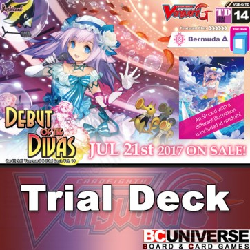 G-TD14: Debut of the Divas - Cardfight Vanguard G Trial Deck