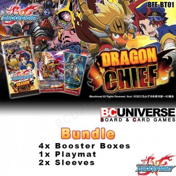 BT01 Dragon Chief (English) Future Card Buddyfight Booster Bundle