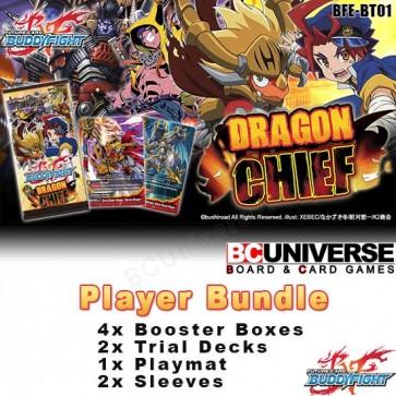 BT01 Dragon Chief (English) Future Card Buddyfight Player Bundle