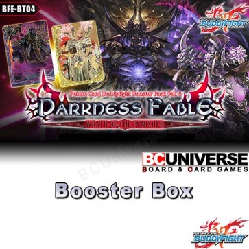 BT04 Darkness Fable (English) Future Card Buddyfight Booster Box