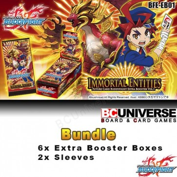 EB01: Immortal Entities - Future Card Buddyfight Extra Booster Bundle