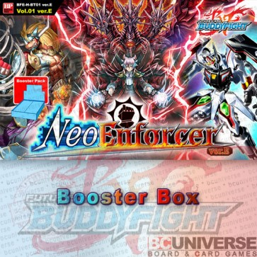 H-BT01: Neo Enforcer ver.E (English) Future Card Buddyfight Hundred Booster Box