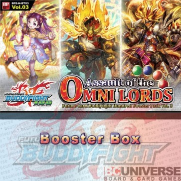 H-BT03: Assault of the Omni Lords (English) Future Card Buddyfight Hundred Booster Box