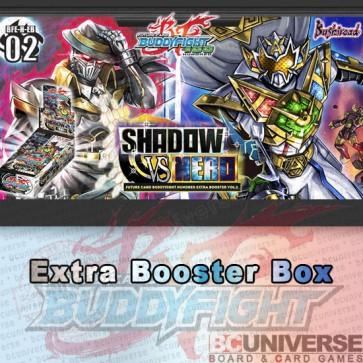 H-EB02: Shadow Vs Hero Future Card Buddyfight Hundred Extra Booster Box