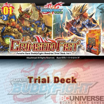 Hundred Trial Deck Vol. 1: Crimson Fist - Future Card Buddyfight