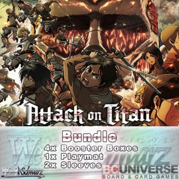 Attack on Titan (English) Weiss Schwarz Booster Box Bundle