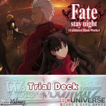 Fate/stay night [Unlimited Blade Works] (English) Weiss Schwarz Trial Deck