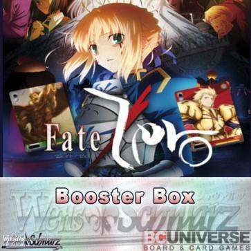Fate/Zero (English) Weiss Schwarz Booster Box
