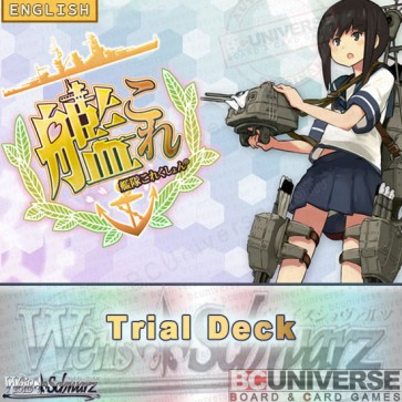 KanColle Kantai Collection (English) Weiss Schwarz Trial Deck