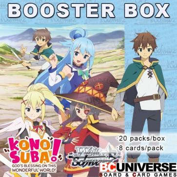 Konosuba Weiss Schwarz Booster Box