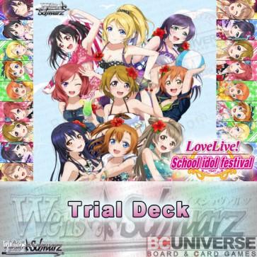 Love Live! feat. School idol festival (English) Weiss Schwarz Trial Deck
