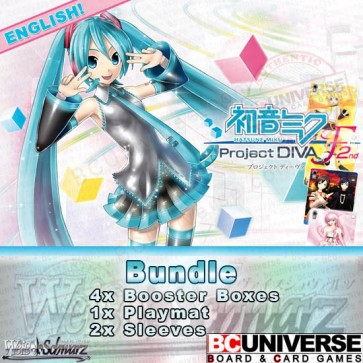 Hatsune Miku: Project DIVA F 2nd (English) Weiss Schwarz Booster Box Bundle