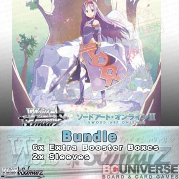 Sword Art Online II Vol 2 (Japanese) Weiss Schwarz Extra Booster Bundle