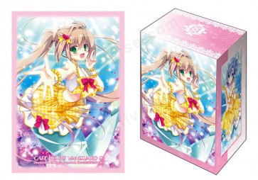 "Bushiroad Sleeve & Deck Holder Collection Vol.3 ""PR, ISM-I Sunshine Vert"""
