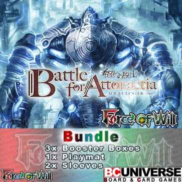 A4 Battle for Attoractia Force of Will Booster Box Bundle