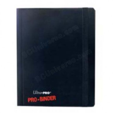 Ultra Pro 4 Pocket Pro-Binder - Black