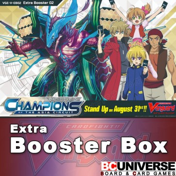 V-EB02: Champions of the Asia Circuit Vanguard Extra Booster Box