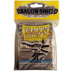 Dragon Shield Mini Sleeves - Silver (50)