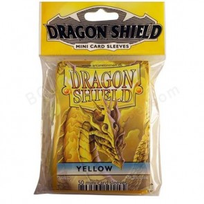 Dragon Shield Mini Sleeves - Yellow (50)