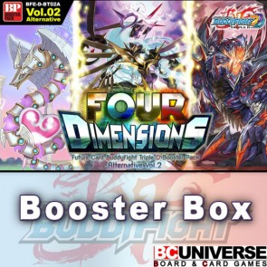 D-BT02: Four Dimensions Future Card Buddyfight Triple D Booster Box