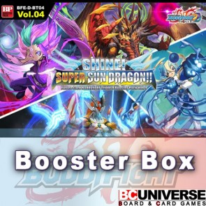 D-BT04: Shine! Super Sun Dragon!! Future Card Buddyfight Triple D Booster Box