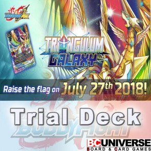 S-TD02: Triangulum Galaxy Future Card Buddyfight Start Deck