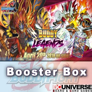 X2-BT1: Buddy Legends Future Card Buddyfight X Booster Box