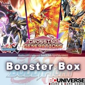 X-BT01A:Crossing Generations Future Card Buddyfight X Alternative Booster Box