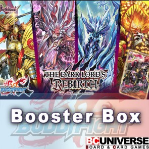 X-BT01:The Dark Lord's Rebirth! Future Card Buddyfight X Booster Box