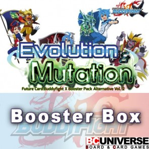 X-BT02A:Evolution & Mutation Future Card Buddyfight X Booster Box Alternative