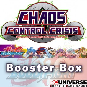 X-BT02:Chaos Control Crisis Future Card Buddyfight X Booster Box