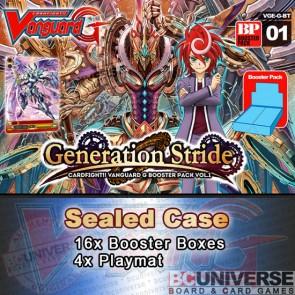 BT01 Generation Stride (English) Cardfight Vanguard G Sealed Case