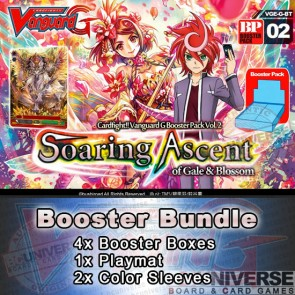 BT02 Soaring Ascent (English) Cardfight Vanguard G Booster Bundle