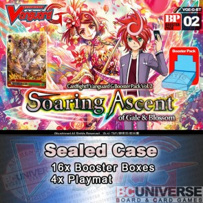 BT02 Soaring Ascent (English) Cardfight Vanguard G Sealed Case